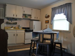Lake George house photo - Cottage kitchen/eating area