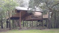 Suwannee River Cabin - 24 Private Wooded Acres- 500' Waterfront-Dock-Pets ATV OK