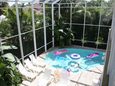 Private Enclosed Heated Pool