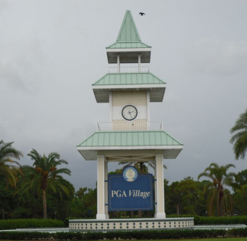 Entrance to PGA Village