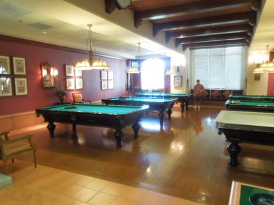 Billiards in Clubhouse
