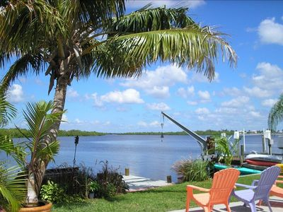 Pine Island house rental - Sunset view of the aquatic preserve