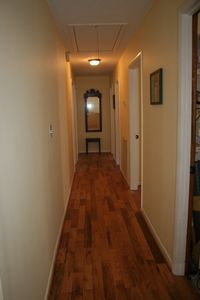 Hall leads to 4 spacious bedrooms