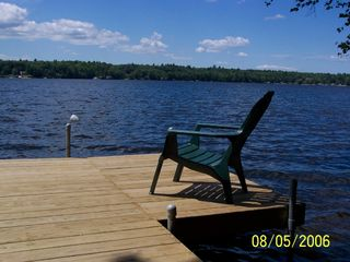 Windham cottage photo - New dock