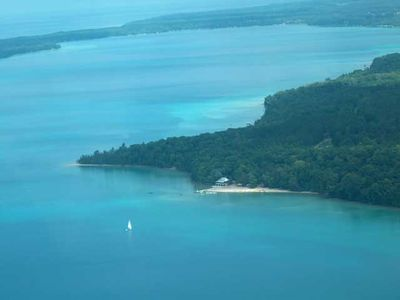 Torch Lake is just a few miles away