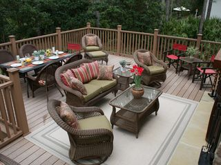 St. Simons Island house photo - Outdoor Living Area