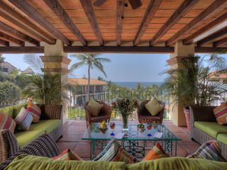 Main Floor Seating Area - Puerto Vallarta villa vacation rental photo
