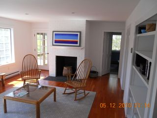 Miacomet Pond house photo - Renovated Living Room