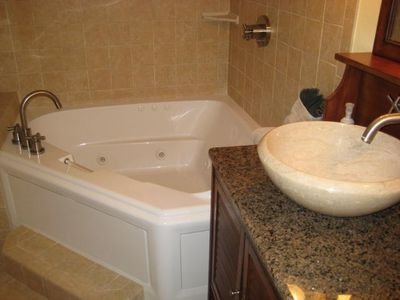 Jacuzzi Tub in Master Bath, Unit #1