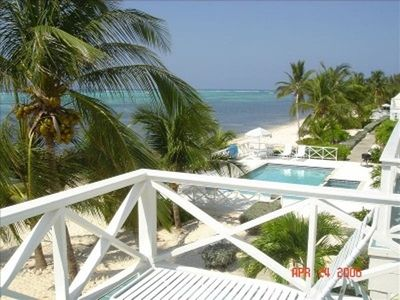 Little Cayman condo rental - From the master bedroom balcony
