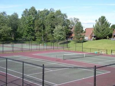 Tennis anyone??  Stonybrook has 6 tennis courts and we have rackets for you.