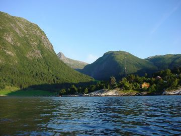 Ortnevik from the Sognefjord