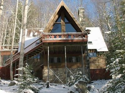 Luxury Mountain Chalet on 2 Secluded Wooded Acres