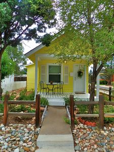 Colorado Springs cottage rental - Irresistibly Charming Parisian 1909 Cottage