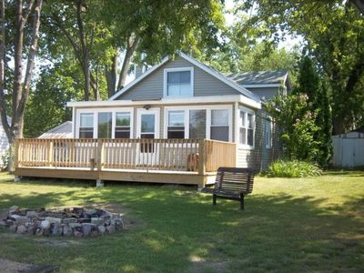 Beachfront, Cottage Rental Near Outdoor Recreational Activities, In Dowagiac