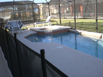Pool Deck including Spa