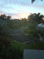 Sanibel Island condo photo - Sunset from the kitchen window