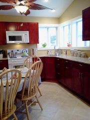 Lavallette house photo - Eat-in Kitchen is clean bright and waiting for you to enjoy!