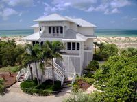 right on the beach, quiet location, island life, sunsets, golf courses