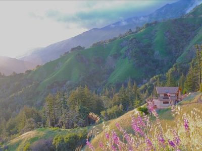 Splendid isolation in Big Sur, Ca., with ocean views and an elegant, fun home.