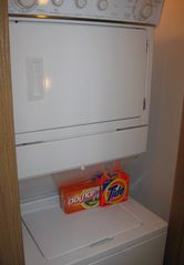 Big Sky condo photo - Washer dryer