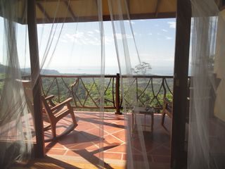 Uvita villa photo - Upstairs balcony outside master bedroom. Perfect for bird watching.