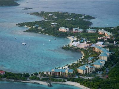 Aerial View St Thomas Residence Club