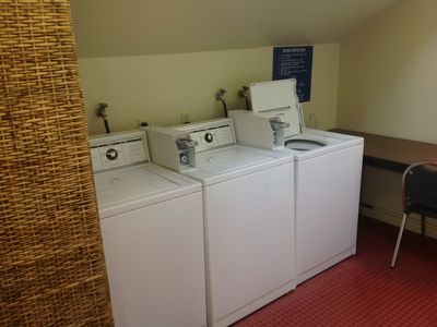 Washers and Dryers located just 40 ft from our unit