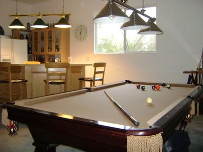MAN CAVE POOL TABLE