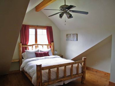 Missoula house rental - upstairs bed-queen