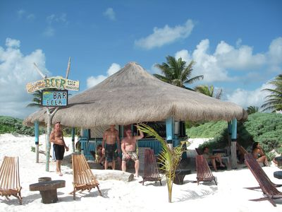 Another local beach bar.