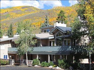 Vail townhome photo - Golden Peak Location - Walk to Lifts, Vail Village, Ford Park