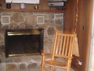 Canton cabin photo - Fireplace!