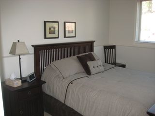 Big Boulder house photo - Lower level bedroom with queen bed