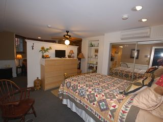 Logan Circle apartment photo - Sleeping and living areas are separated by a 3/4 dividing wall