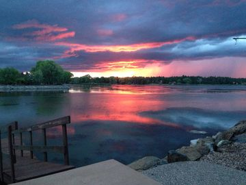 Pinetop house rental - The most incredible sunsets!
