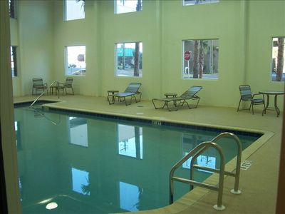 Indoor Pool for those rainy, winter days