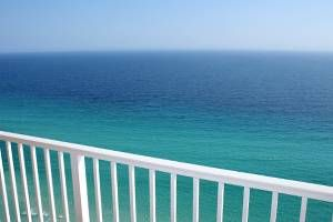 Peaceful Beach front balcony to enjoy your morning coffee and dolphin viewing