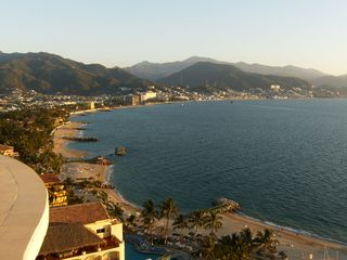 Puerto Vallarta condo photo - Southern Bay View from the Expansive Balcony