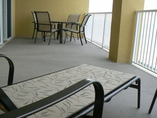 Tropic Winds condo photo - 260 Sq ft Balcony -- come on out and sit a spell