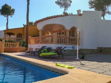 2 bed villa ideal for families