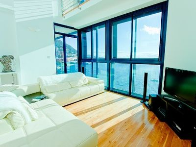 Gibraltar apartment rental - Lounge with door to Balcony
