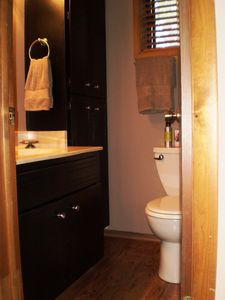 Adjoining bathroom #2 with walk-in shower