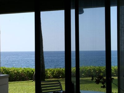 Oceanfront viewing extends width of unit - the Pacific is all yours!