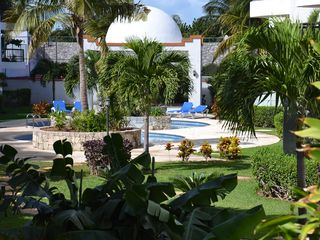 Cancun villa photo - Tropical Gardens & Pools