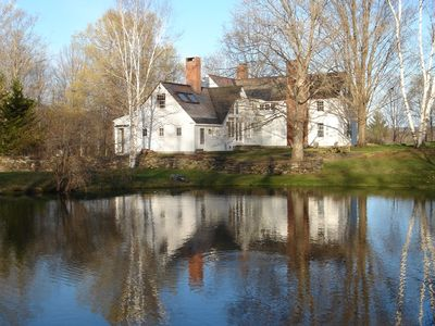 Woodstock farmhouse rental - On the Pond