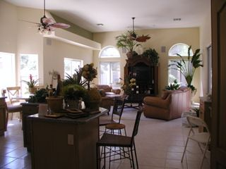 "Sunny open family room and kitchen. New 50"" Flat Screen TV with a gr... - Gilbert house vacation rental photo"