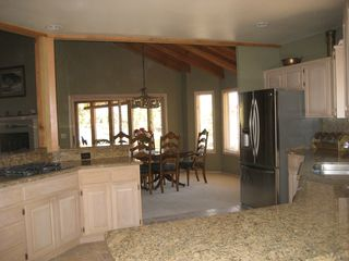 Pinetop house photo - Just remodeled kitchen towards dining room and Arizona room