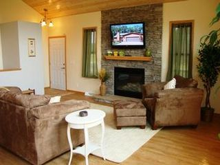 Wisconsin Dells house photo - Living Room with Gas Fire Place