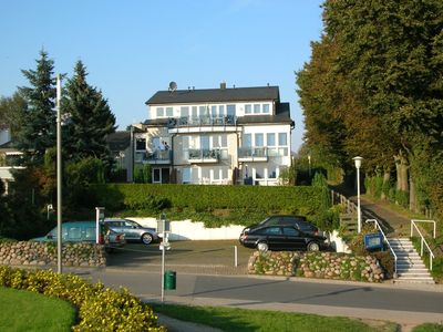 Located directly by the marina in Grömitz, it is about 100 m to the beach